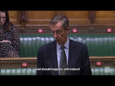Embedded thumbnail for My question to BEIS about business rates relief for the events industry
