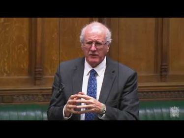 Embedded thumbnail for My Adjournment Debate on older people's dental health